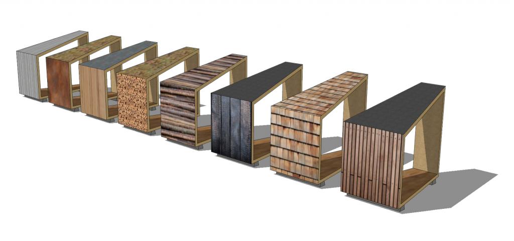 materialen timy modules